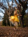 Bailarina fora Fotos de Stock Royalty Free