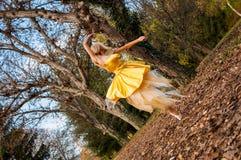 Bailarina fora Imagens de Stock