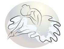 Bailarina gritadora Fotografía de archivo libre de regalías