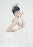 Bailarina hermosa Foto de archivo libre de regalías