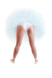 Bailarina hermosa Fotografía de archivo