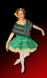Bailarina isolada