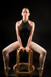 Bailarina joven Imágenes de archivo libres de regalías