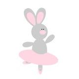 Bailarina linda del conejo Fotografía de archivo libre de regalías