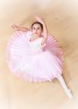 Bailarina na escola de dança Imagem de Stock