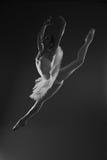 Bailarina no salto Fotos de Stock Royalty Free