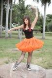 Bailarina urbana Foto de archivo libre de regalías