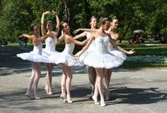 Bailarinas Foto de Stock Royalty Free