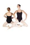 Bailarinas caucasianos novas fotos de stock