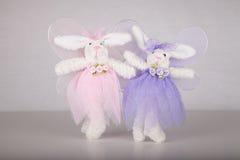 Bailarinas do coelhinho da Páscoa Foto de Stock