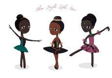 Bailarinas pequenas bonitos Fotos de Stock Royalty Free
