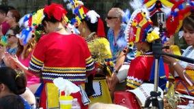 Bailarines étnicos Imagenes de archivo