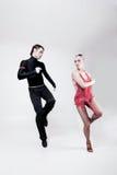 Bailarines Imágenes de archivo libres de regalías