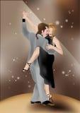 Bailarines 2 del tango Foto de archivo