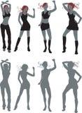 Bailarines libre illustration