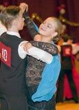 Bailarines adolescentes en contes de ISDF Fotografía de archivo