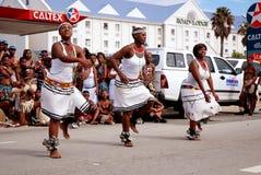 Bailarines africanos Fotografía de archivo