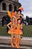 Bailarines americanos de Sout con las alineadas de lujo Imagen de archivo libre de regalías