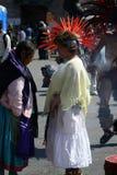 Bailarines aztecas imagen de archivo libre de regalías