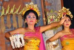 Bailarines bali de Legong Imagen de archivo libre de regalías