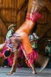 Bailarines colombianos 1 Imágenes de archivo libres de regalías