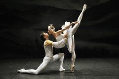 Bailarines de ballet Foto de archivo libre de regalías