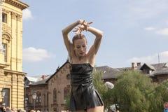 Bailarines de ballet Imágenes de archivo libres de regalías