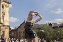 Bailarines de ballet Fotografía de archivo
