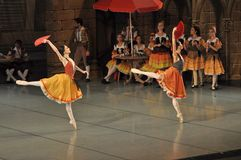 Bailarines de ballet de sexo femenino Imagen de archivo