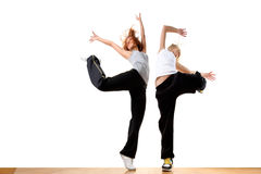 Bailarines de ballet modernos del deporte Foto de archivo
