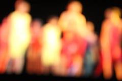 Bailarines de Bokeh Fotos de archivo