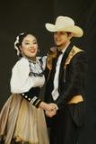 Bailarines de Folklorico Imagenes de archivo