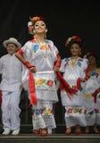 Bailarines de Folklorico Fotografía de archivo