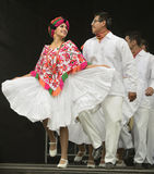 Bailarines de Folklorico Foto de archivo libre de regalías