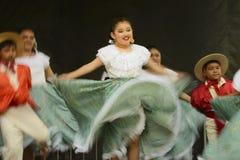 Bailarines de Folklorico Imagen de archivo libre de regalías