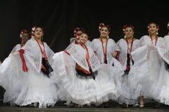 Bailarines de Folklorico Fotos de archivo