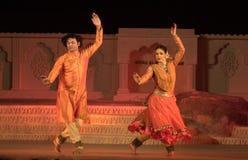 Bailarines de Kathak Fotografía de archivo libre de regalías