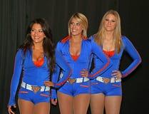 Bailarines de la ciudad de Knicks Imágenes de archivo libres de regalías