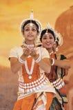 Bailarines de la India Imagen de archivo libre de regalías