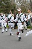 Bailarines de Morris fotografía de archivo