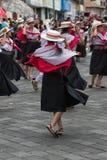 Bailarines de sexo femenino de la calle Fotografía de archivo