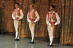 Bailarines de sexo masculino Foto de archivo