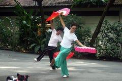 Bailarines de Singapur Imágenes de archivo libres de regalías