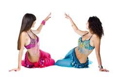Bailarines de vientre Fotografía de archivo libre de regalías