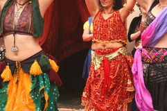 Bailarines de vientre Fotografía de archivo