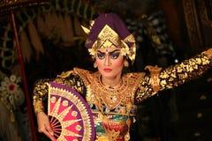 Bailarines del Balinese Foto de archivo