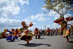 Bailarines del Cham Imagen de archivo libre de regalías
