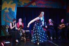 Bailarines del flamenco Imagen de archivo libre de regalías