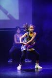 Bailarines del hip-hop Fotos de archivo