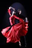 Bailarines del Latino Fotografía de archivo libre de regalías